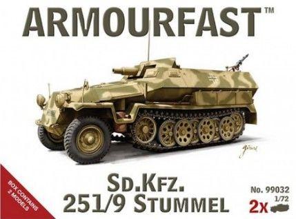 1/72 Sd.Kfz.251/9 Stummel (2) - Armourfast 99032