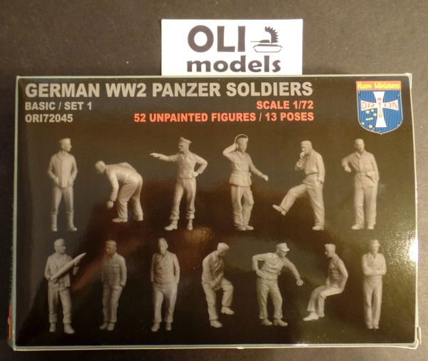 1/72 WWII German Panzer Soldiers Set #1(52) - Orion 72045