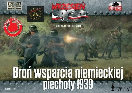 1/72 WWII German Infantry Support Weapons w/15 Crew - First to Fight 020