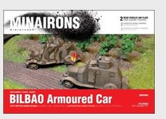 1/72 Spanish Civil War: Bilbao Armored Car (2) (Resin) - Minairons 7203