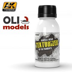 Texturizer Acrylic Resin for Pigments 100ml Bottle - AK Interactive 665