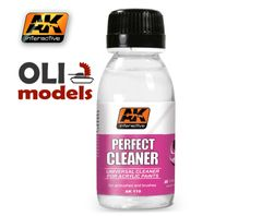 Perfect Acrylic Cleaner 100ml Bottle - AK Interactive 119