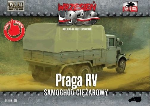 1/72 WWII Polish, German, Czechoslovakian PRAGA RV Truck - First to Fight 030