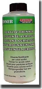 Acrylic Thinner (250ml Bottle) (Old #200) - Lifecolor 2130