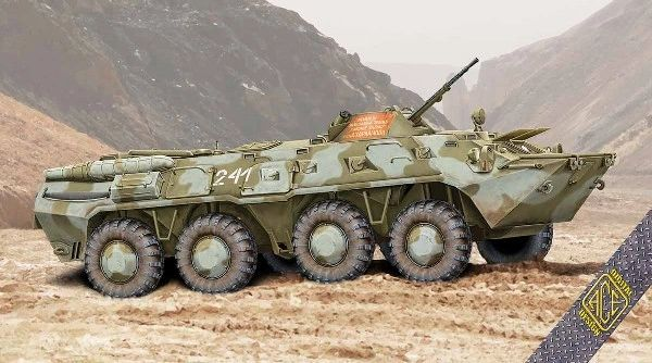 1/72 BTR80 Early Production Soviet Armored Personnel Carrier - ACE 72171