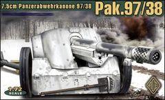 1/72 German 7.5cm Pak 97/38 WWII Gun - ACE 72223
