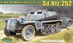 1/72 SdKfz 252 Armored Semi-Tracked Munitions Carrier - ACE 72238