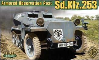 1/72 German SdKfz 253 Armored Observation Post - ACE 72239