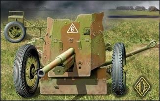 1/72 Soviet 45mm Anti-Tank Gun Model 1937 - ACE 72242