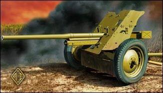 1/72 Soviet 45mm Anti-Tank Gun Model 1942 - ACE 72245