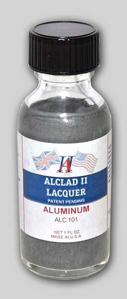 1oz. Bottle Aluminum Lacquer - ALCLAD 101