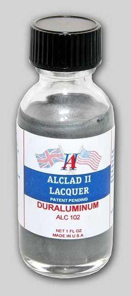1oz. Bottle Duraluminum Lacquer - ALCLAD 102