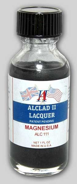 1oz. Bottle Magnesium Lacquer - ALCLAD 111