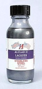1oz. Bottle Stainless Steel Lacquer - ALCLAD 115
