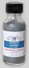 1oz. Bottle Semi-Matte Aluminum Lacquer - ALCLAD 116