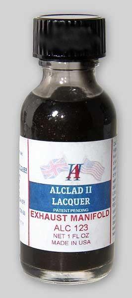 1oz. Bottle Exhaust Manifold Lacquer - ALCLAD 123