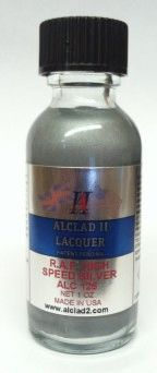 1oz. Bottle RAF High Speed Silver Lacquer - ALCLAD 125