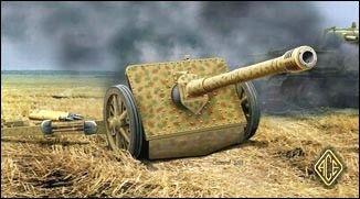 1/72 7.5cm Pak 41 Gun - ACE 72280