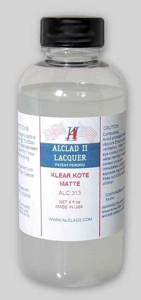 4oz. Bottle Clear Coat Matte - ALCLAD 313