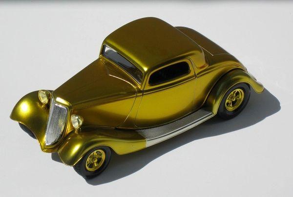 1oz. Bottle Candy Golden Yellow Enamel - ALCLAD 706