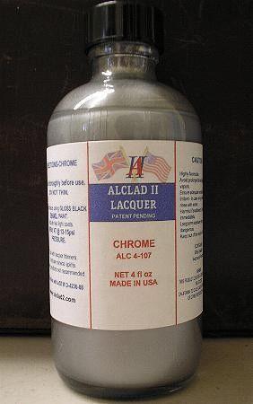 4oz. Bottle Chrome Lacquer - ALCLAD 4107