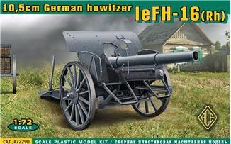 1/72 German leFH16(RH) 10.5cm WWII Field Howitzer - ACE 72290