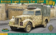 1/72 British 10hp Tilly Light Utility Car - ACE 72500