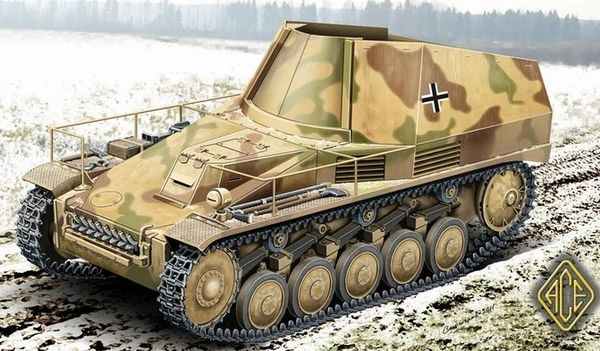 1/72 Munitionsschlepper w/Wespe Ammo Carrier - ACE 72502