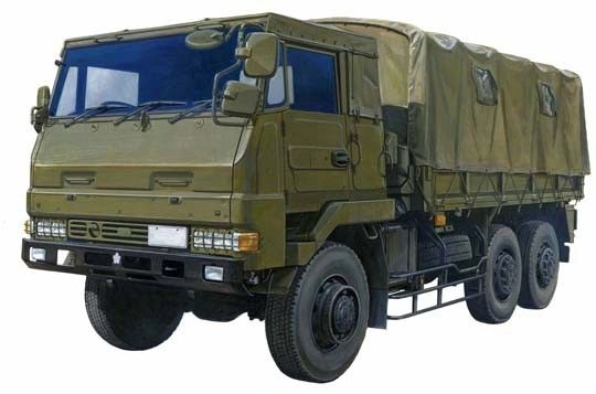 1/72 Japan Ground Self Defense 3.5t Cargo Truck - Aoshima 2322