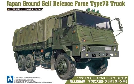 1/72 Japan Ground Self Defense Type 73 Truck - Aoshima 2346