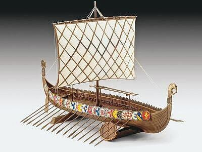 1/350 Viking Ship 9th Century - Aoshima 43172