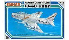 1/72 FJ4B Fury USN Jet - Emhar 1001