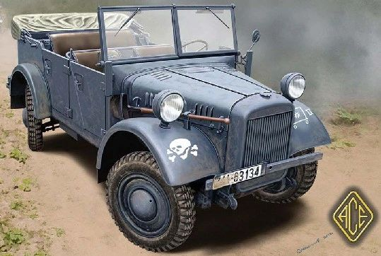1/72 Kfz1 Le.gl. Einheits Personnel Truck - ACE 72509