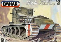 1/72 WWI Whippet Mk A Medium Tank 1918 - Emhar 5004