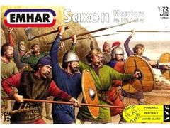 1/72 9th-10th Century Saxons Warriors (50) - Emhar 7206