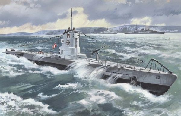 1/144 German U-Boat Type IIB Submarine 1939 - ICM 9