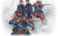 1/35 French Line Infantry French-German War 1870-1871 (4) - ICM 35061