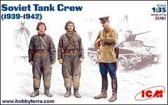 1/35 WWII Soviet Tank Crew 1939-1942 - ICM 35181