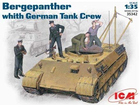 1/35 German Bergepanther Tank w/Crew - ICM 35342