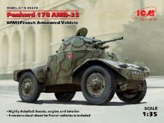 1/35 WWII French Panhard 178 AMD35 Armored Vehicle - ICM 35373