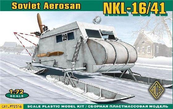 1/72 Soviet NKL16/41 Armored Aerosan - ACE 72516