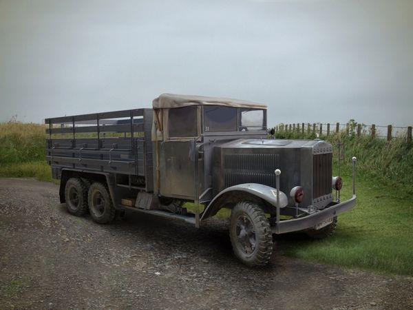 1/35 WWII German Krupp L3H163 Army Truck - ICM 35461