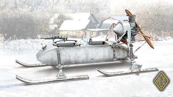 1/72 RF8 GAZ98K Aerosan - ACE 72517