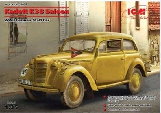 1/35 WWII German Kadett K38 Saloon Staff Car - ICM 35478
