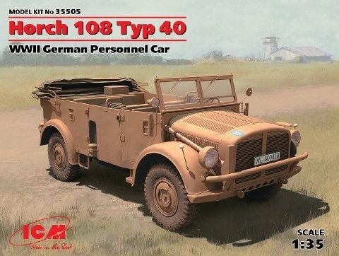 1/35 WWII German Horch 108 Type 40 Personnel Car - ICM 35505