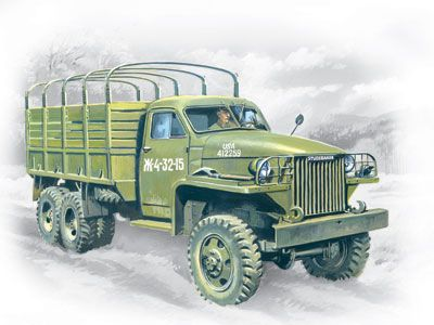 1/35 WWII Studebaker US6 Army Truck - ICM 35511