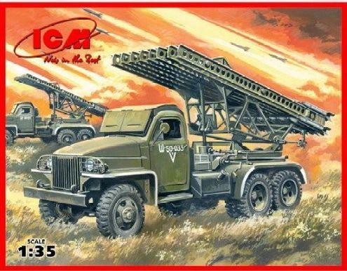 1/35 WWII Soviet BM13-16N Multiple Launch Rocket System - ICM 35512