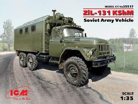1/35 Soviet ZiL131 KShM Army Vehicle - ICM 35517