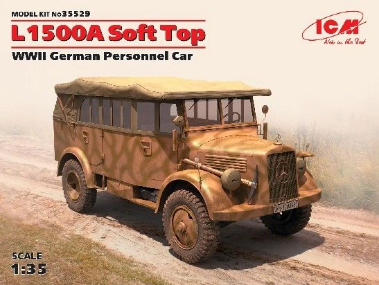 1/35 WWII German L1500A Soft Top Personnel Car - ICM 35529