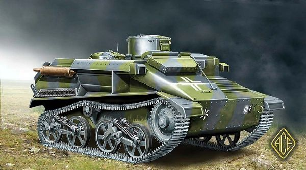1/72 BeobachtungsPz Mk VI 736(e) Tank - ACE 72519